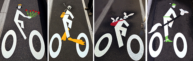 Contest: Design your own bike lane person – Bike Happy Cascadia